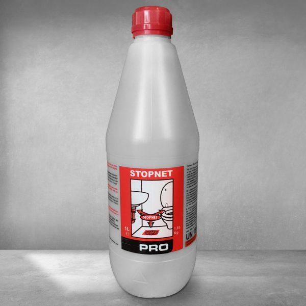 Déboucheur Stopnet bottle of Lambert Chemicals