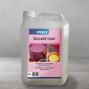 Siccatif Clair canister of Lambert Chemicals