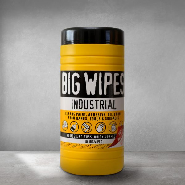 BIG WIPES canister of Lambert Chemicals